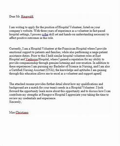 how to write a cover letter for volunteering - job application letter for hospital volunteer photo album