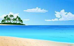 cartoon beach backdrop | Cartoon Beach Background Cartoon ...