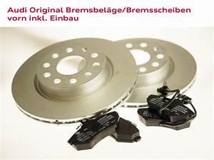 Bremsbeläge Und Bremsscheiben : audi original bremsbel ge und bremsscheiben vorn inkl ~ Jslefanu.com Haus und Dekorationen