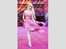 Brazilian 'Human Barbie' Andressa Damiani claims her