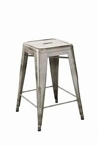 tabouret tolix 75 trendy mobilier tabourets de bar With idee deco cuisine avec chaise plastique transparent conforama