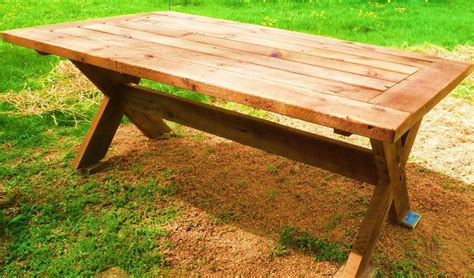 palmetto picnic table fence row furniture