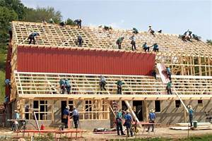 amish community comes together for barn raising near With amish barn builders near me