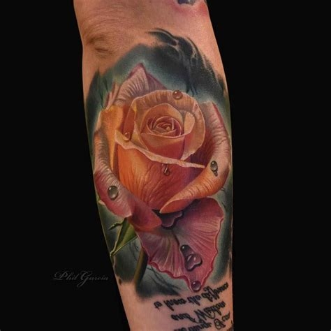 The World Famous Roses By Phil Garcia  Inkppl Tattoo Magazine