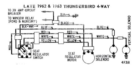 Thunderbird Power Seat Wiring Diagram