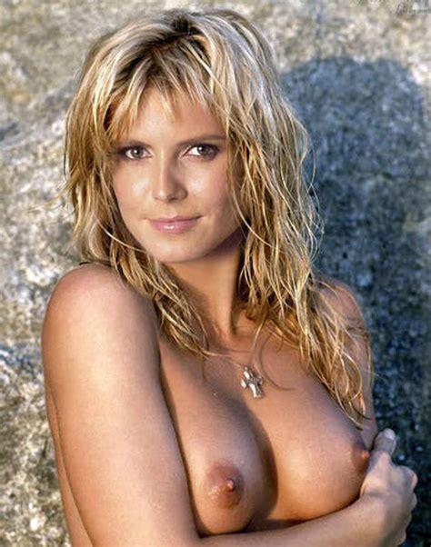 Celebrity Nude Century Heidi Klum A Day At The Beach