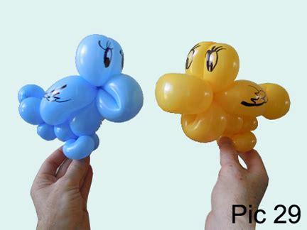 balloon animals twisting instructions balloon bird