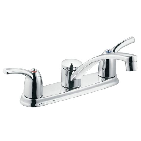 Kitchen Faucets Rona by Moen Adler 2 Handle Kitchen Faucet 87412 Rona
