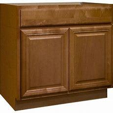Hampton Bay 36x345x24 In Shaker Sink Base Cabinet In