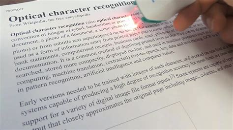 optical character recognition wikipedia