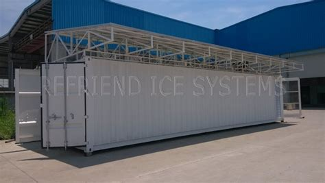chambre froide solaire l 39 énergie solaire 40ft conteneurmoto chambre froide