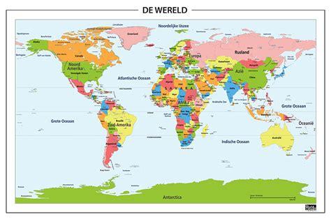 wereld kaart van ties en luuk