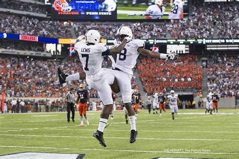 Penn State wide receiver Eugene Lewis shows glimpses of ...