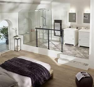 suite parentale avec salle de bain nos idees amenagement With suite parentale salle de bain dressing