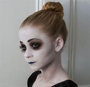 Maquillage Halloween Enfant Facile : maquillage halloween fille simple notre choix d 39 id es ~ Nature-et-papiers.com Idées de Décoration
