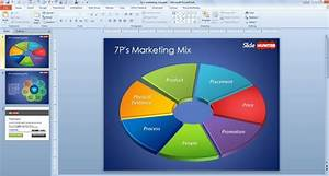 Free 7P Marketing Mix Template for PowerPoint
