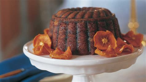 steamed persimmon pudding