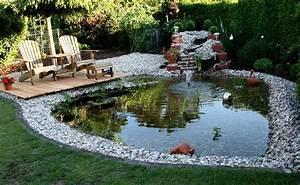 Ideen Für Kleinen Gartenteich : 55 gartenteich bilder lassen sie f r ihren traumgarten ~ Michelbontemps.com Haus und Dekorationen