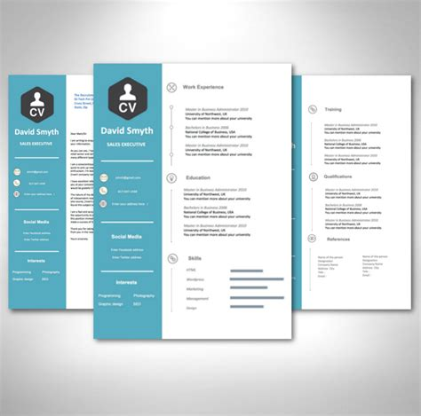 Modern Resume Design Template by Modern Cv Template Pack Acecvs