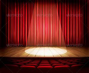 Theater curtain psd tinkytylerorg stock photos graphics for Theatre curtains psd
