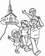 Coloring Christian Happy Topcoloringpages Children Deviantart Colouring Library sketch template