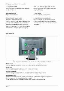 Samsung Lme19ws 931bw Lcd Monitor Service Manual Service