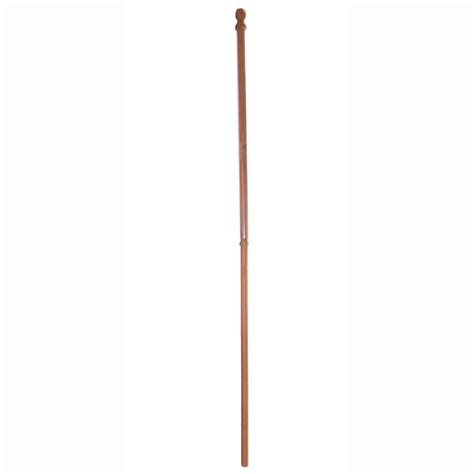 wood light pole cost shop wooden flag pole at lowes com