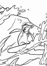 Surfs Coloring Surf Fun Votes sketch template