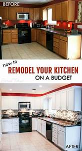 17 best ideas about kitchen renovations on pinterest With best brand of paint for kitchen cabinets with where to make stickers