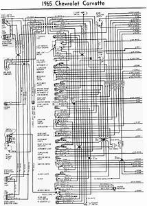 1965 Chevrolet Corvette Wiring Diagram