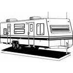 Trailer Clipart Clip Boat Rv Camping Cliparts
