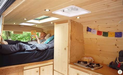 For This Woman, Van Dwelling Is Her Solution To High Rents