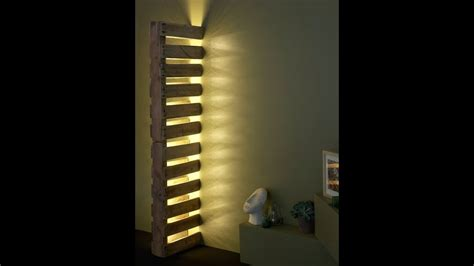 simple wall pallet lamp diy tutorial id lights