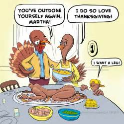 Thanksgiving Turkey Dinner Cartoon