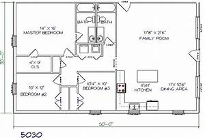 30x50 barndominium plans joy studio design gallery With 30x50 pole barn plans