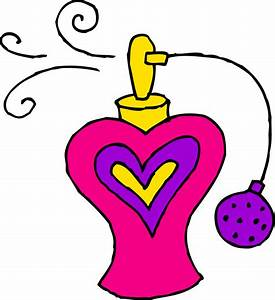Pink Bottle of Perfume Clipart - Free Clip Art