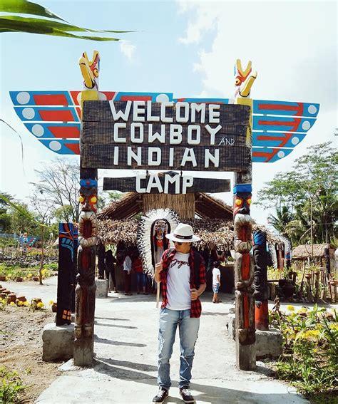 lokasi  rute cowboy  indian camp blitar destinasi