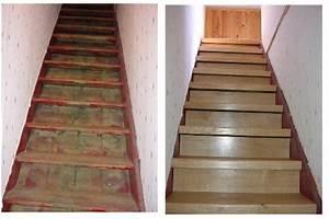 Avec Quoi Recouvrir Un Escalier En Carrelage : recouvrir un escalier de beton en parquet chene ma communaut leroy merlin ~ Melissatoandfro.com Idées de Décoration