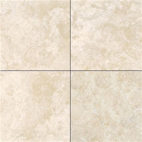 Fliesen Creme by Travertine Tiles Durango Honed And Filled 18x18