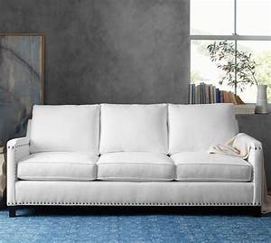 tyler upholstered sofa collection pottery barn With best pottery barn fabric for sofa