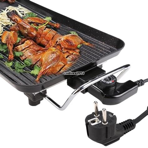 best indoor table top electric grills electric teppanyaki table top grill griddle bbq plate