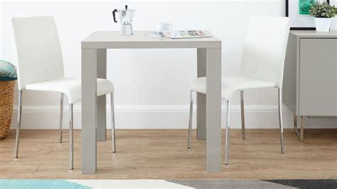 grey kitchen table modern grey high gloss dining table kitchen table