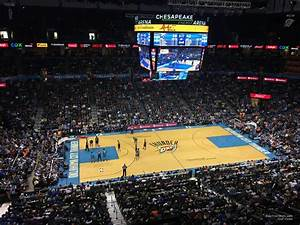 Chesapeake Energy Arena Oklahoma City Ok Seating Chart Chesapeake Energy Arena Section 310 Oklahoma City