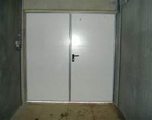 Mse portes exterieures porcherie porc for Largeur porte garage double