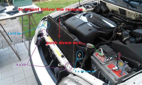 volvo    series   repalce condensator radiator