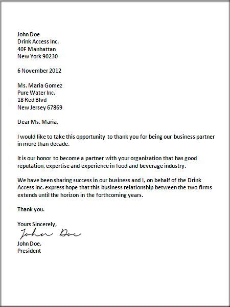 ideas  business letter format  pinterest