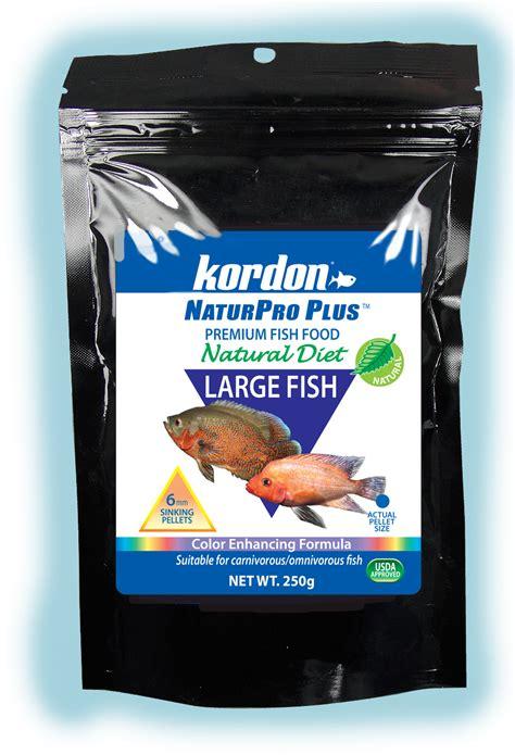 fish diet herbivore carnivore plus pro kordon natur