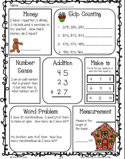 common core math  language arts daily practice