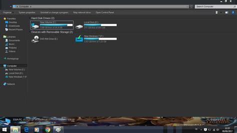 Custom Theme Mobile Legend Untuk Windows 7