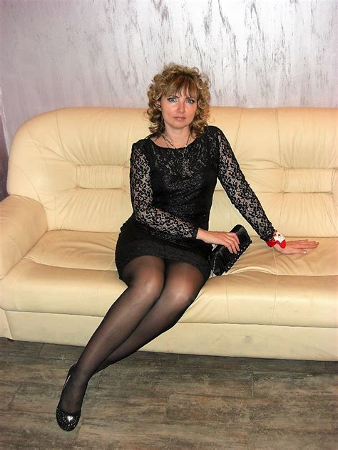 Milf In Lace Dress And Black Pantyhose Bestfashionpantyhos Flickr